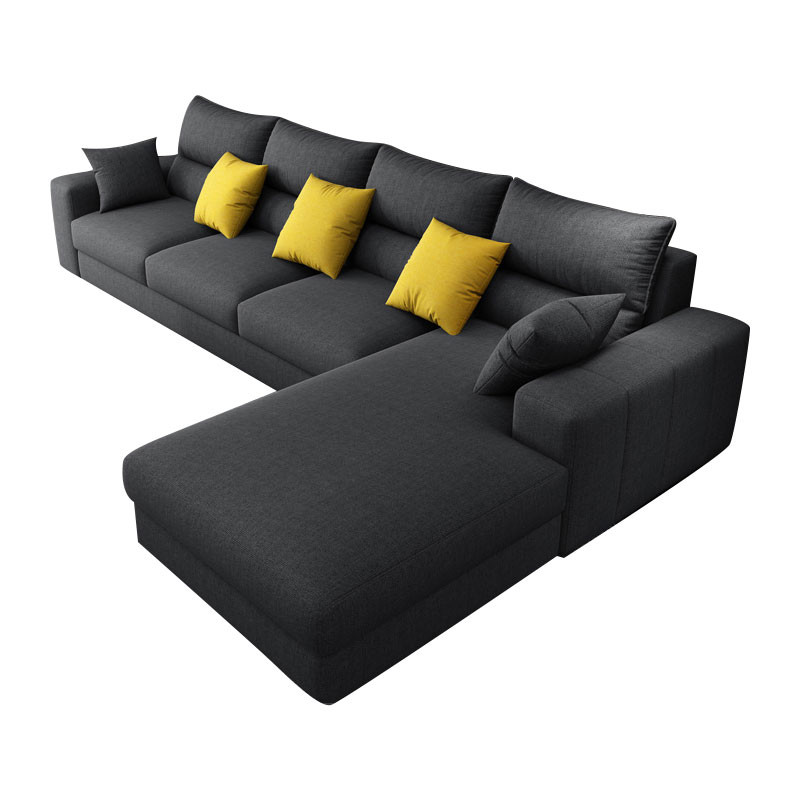 Latex Cushion Grey Leath-aire fabric lounge  revertible  Chaises