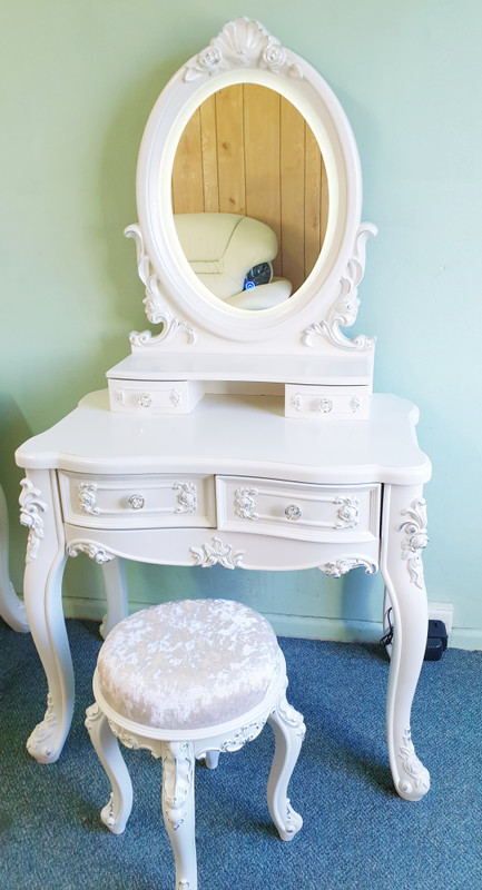 80cm French Design Wooden dressing table