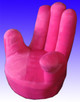 Pink hand chair