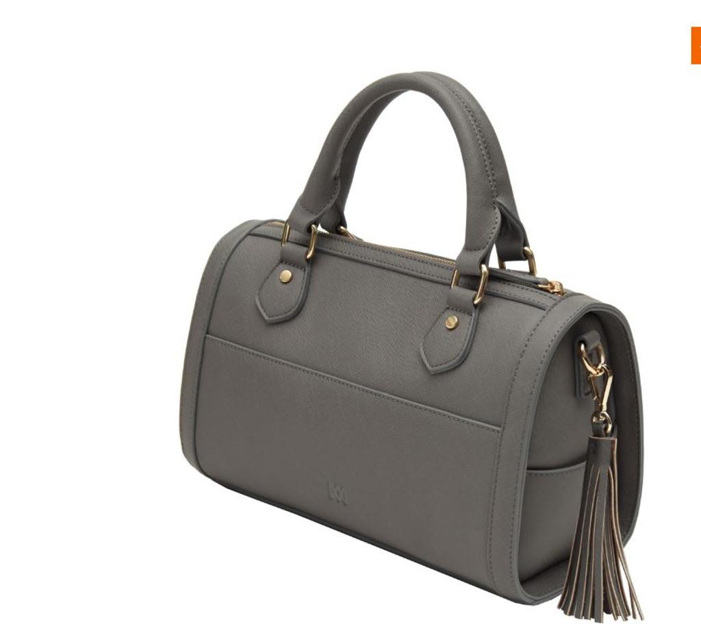 0fa281b08cb4 Marsi Bond Brooklyn Vegan Leather Satchel Bag - Grey