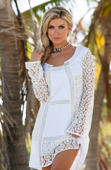 Union of Angels Arissa Dress - White