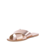 Seychelles Total Relaxation Slide Sandal - Rose Gold