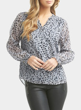 Tart Collections - Floriana Top- Winter Leopard