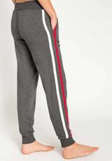 PJ Salvage Snowed In Pant Charcoal Color
