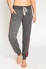 PJ Salvage Snowed In Pant Charcoal Color