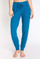 PJ Salvage Peachy Banded Pant in Teal