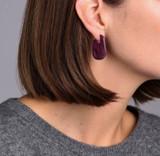 Jennybird Margo Earrings - Berry