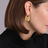 Jennybird Margo Earrings - Gold