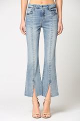 Hidden Jeans Happi Front Split High Rise Flare