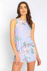PJ Salvage Dream In Color Tank - Peri Floral
