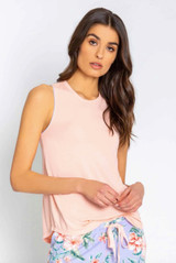 PJ Salvage Dream In Color Tank - Light Peach