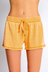 PJ Salvage French Terry Short- Gold