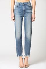 Hidden Jeans Tracey High Rise Straight - Medium Wash