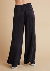 High Waist Flowy Pant - Black