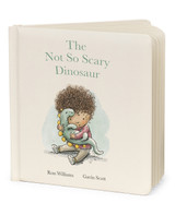 The Not So Scary Dinosaur  Hardback Book
