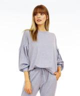 Banded Sweatshirt - Denim