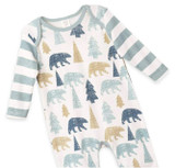 Baby Boy Woodland Romper with Cap