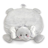 Lil' Spout Gray Elephant Belly Blanket