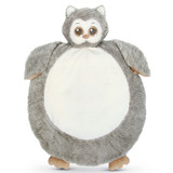 Lil' Owlie Grey Owl Belly Blanket