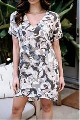 Short Sleeve Shift Dress - Jaylene