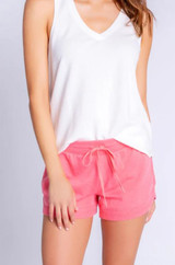 Everyday Lounge Short - Bright Coral