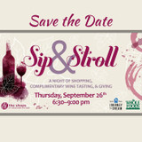 Sip and Stroll Wine Walk