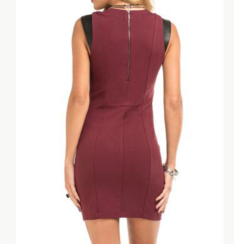 Tart Collections Valkyrie Wine Red Dress