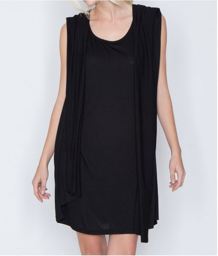 Miilla Drape Panel Back Knit Dress