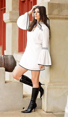 Union of Angels Carlisa Dress - White