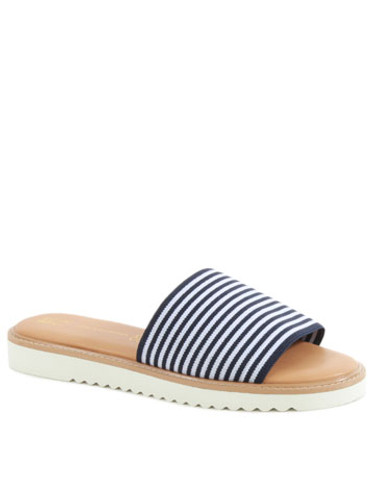 BC Footwear - Cotton Candy - Navy & White Stripe