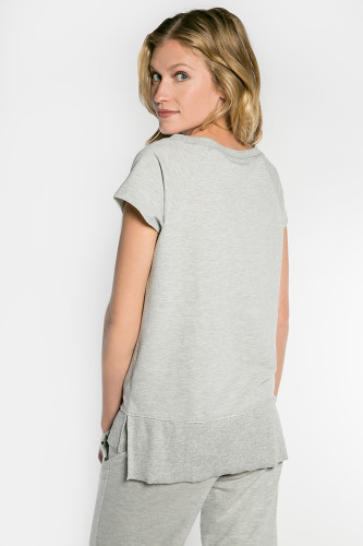 PJ Salvage Beach Please Short Sleeve Top