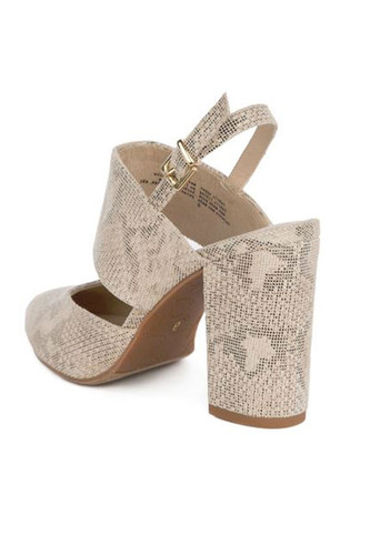 BC Footwear Value Heel in Natural Color