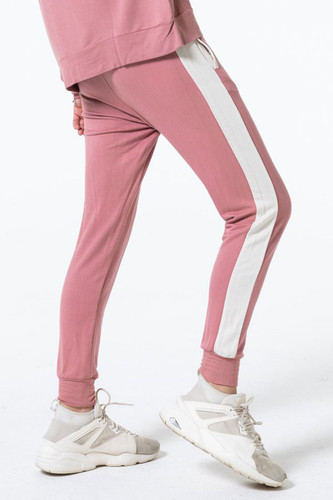 Elevens Sweat Pant in Mauve by The Laundry Room