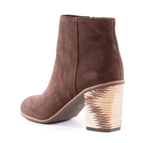 Seychelles Grand Finale Ankle Boot - Chocolate