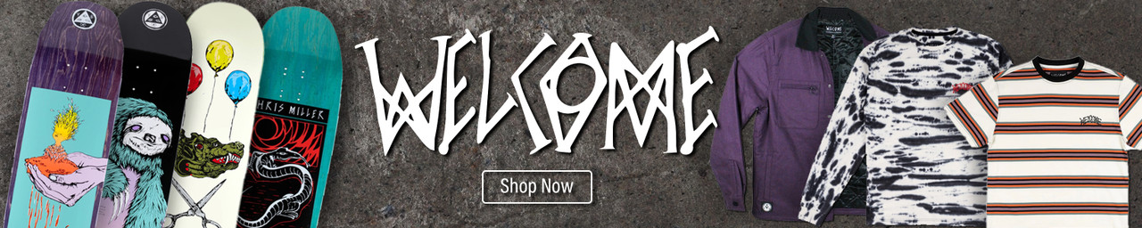 Shop Neo Welcome Skateboards and Clothing