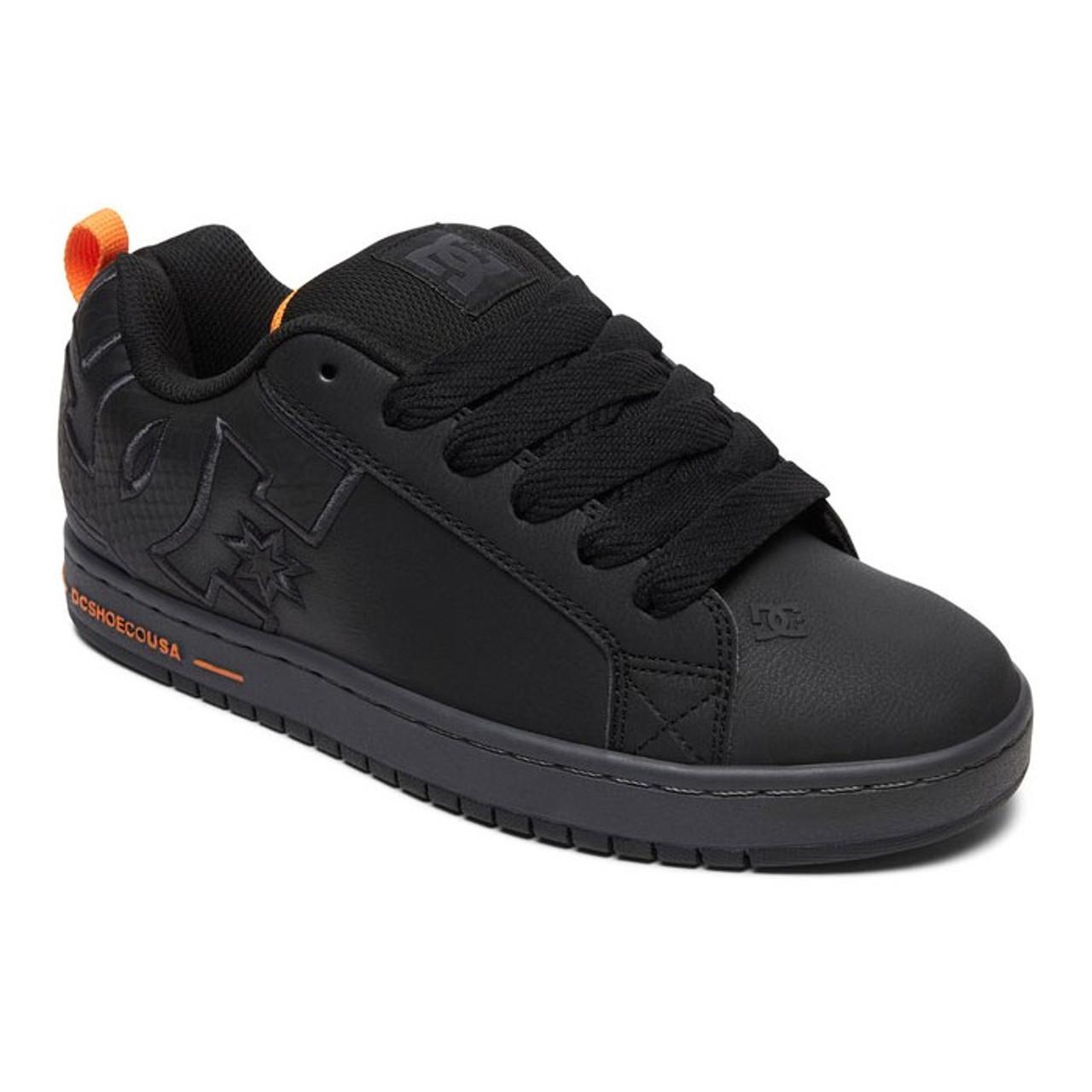 BRAND NEW! DC Skateboard Shoes Court Graffik SE Black//Battleship//Black