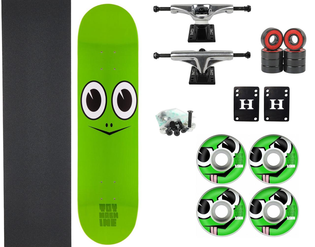 Toy Machine Skateboard Wheels 53mm Angry Turtle