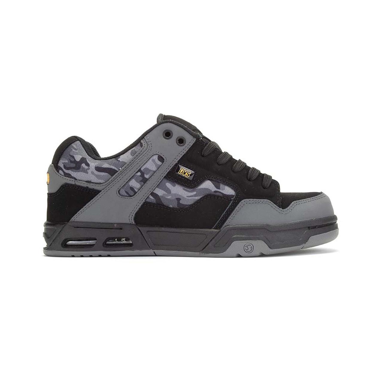Black//Charcoal//Camo//Nubuck DVS Enduro Heir Shoes