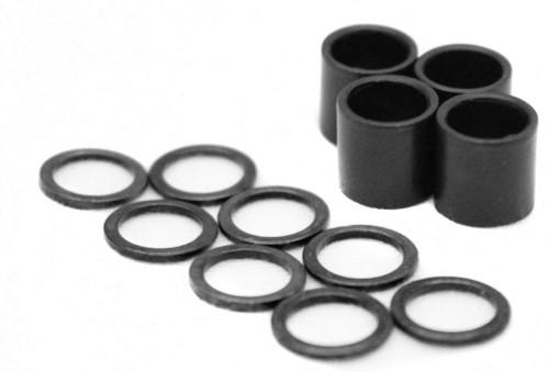 Dimebag Hardware Axle Washers & Bearings Spacers Pack