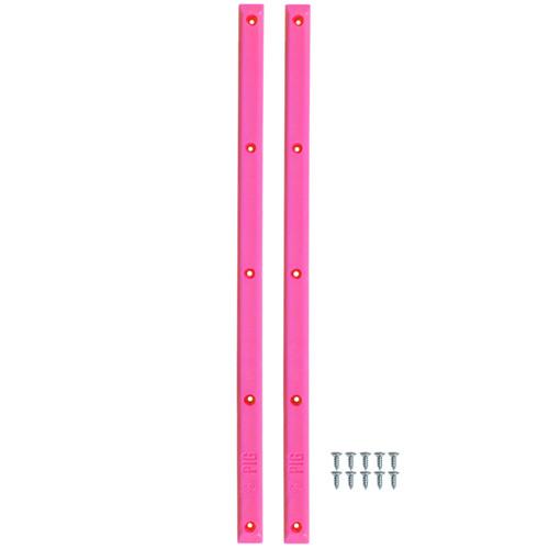 """Pig Rails 14.25"""" Neon Pink"""