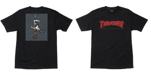Independent Shirt Thrasher BTG Built to Grind Black