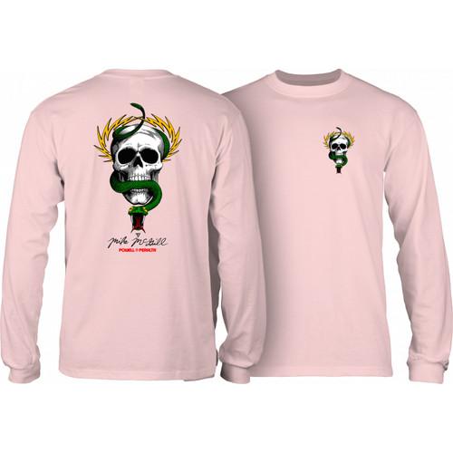 Powell Peralta Skateboard Longsleeve Shirt McGill Skull and Snake Navy