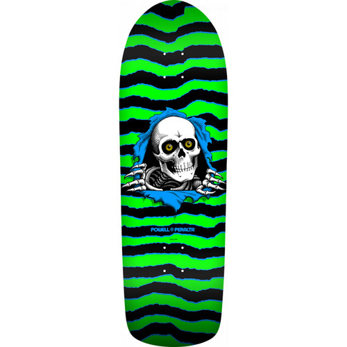 Powell Peralta Deck Old School Ripper Green/Black Re-Issue