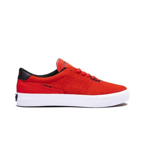 Supra Shoes Lizard Risk Red-White