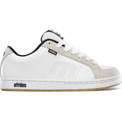 Etnies Shoes Kingpin White/White/Gum