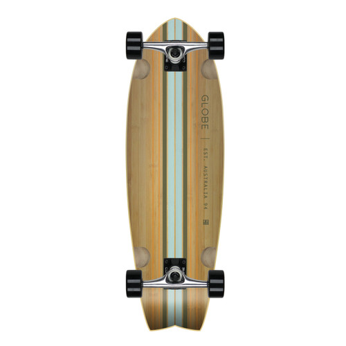 Globe Cruiser Deck Pin City Bamboo Clear/WaterGreen - Standard Build