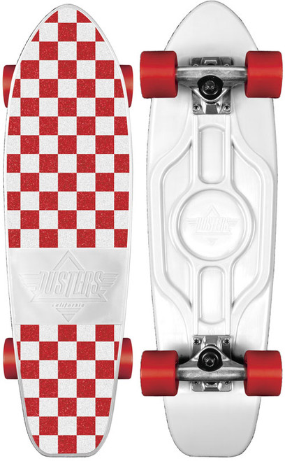 Dusters Mighty Complete White/Red Checkered