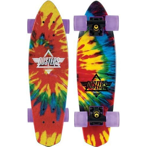 """Dusters Ace Cruiser Complete 24"""" Tie Dye"""