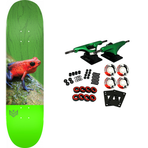 Mini-Logo Skateboard Deck K20 Poison Tree Frog Green 8.25 x 31.95