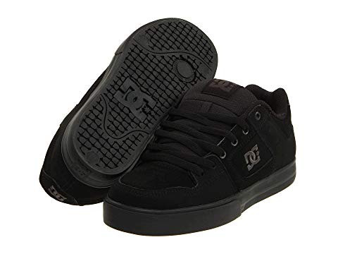 all black dc shoes